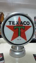 Texaco Aluminium-Globe/Lampe Sehr hochwertig Lampe aus Metall.