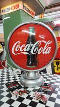 Coca Cola Globe/Lampe Aluminium Sehr hochwertige Lampe aus Metall