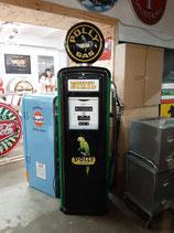 Polly Gas Tanksäule Gilbarco Zapfsäule Eyecatcher mit Beleuchtung (restauriert)