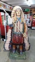 Häuptling der Indianer GFK Figur