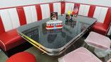 Diner-Tisch (1 Stück) Modell TO-20  Modellbeispiel (Blackstone)