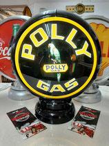 "US-Globe Polly Gas ""must have"" Amerika Lampe Licht Reklame Werbung"