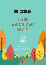 Gutschein WaldSpielSpaßAbenteuer