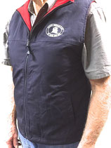 Vest - reversible red / navy blue Waterproof