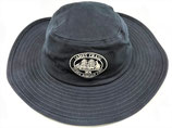 Sun hat with James Craig logo.   Navy blue