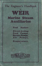 Weir Marine Steam Auxiliaries