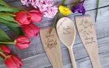 1 handgravierter Pfannenwender Spring Love