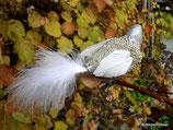 Weihnachtsvogel silber