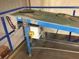 Gebrauchtes Förderband (Gleitbandförderer)  für Pakete, Stahl, Aluminium.........