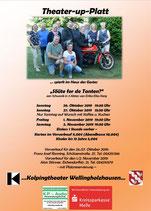 2019-10-26 /27 + 2019-11-01 /02 PlattdeutschesTheater mit - Kolping