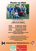 x2019-10-26 /27 + 2019-11-01 /02 PlattdeutschesTheater mit - Kolping