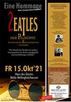 2021-10-15 Beatels Hommage-Konzert