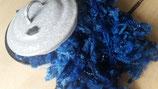 Leicester-Locken Blau