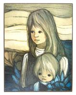 70er Jaklien Moerman Mutter und Kind