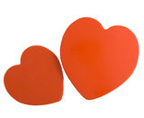80er Herzdosen Set Rot