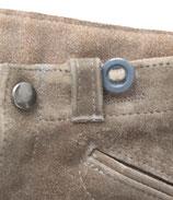 Vintage Lederhose Kniebund Grau 98