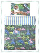 relove Kinderbettwäsche Tiger im Dschungel