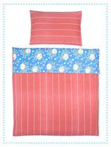 relove Kinderbettwäsche Carton Rouge