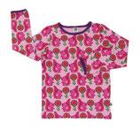 Smafolk Longsleeve Shirt Waschbären Rosa