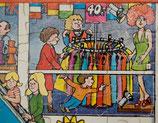 70er Ravensburger Puzzle im Kaufhaus 71 Teile