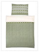 relove Kinderbettwäsche Flowers & Stripes