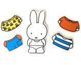 Miffy Holz Magnet Steckpuzzle