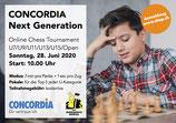 Anmeldung CONCORDIA Next Generation Turnier, Kategorie Open
