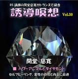 誘導瞑想Vol.30(スタジオ録音版)