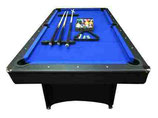 Deluxe 7ft Blue Felt With Accessories FREE DELIVERY