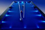 8ft LED Pool/Snooker/Billiard Table Blue Felt FREE DELIVERY!