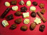 Sans sucre Ballotins ou Plaquettes de Chocolat MALCHOC Chocolat Mixte : Noir - Blanc - Lait
