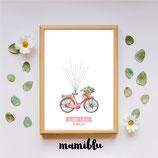 Bicicleta acuarela