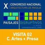 Visita 02 Centro de las Artes  y Presa de San José