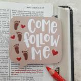 """Sticker """"Follow me"""" (ENG)"""