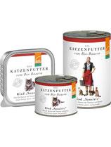 "Defu Rind Katze ""Sensitiv"" Paté - getreidefrei, glutenfrei"