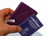 PROTÈGE JEU DE CARTE-VERNET-VIOLET  CARD GUARD
