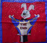 FOULARD LAPIN  THE END (45X45 CM)