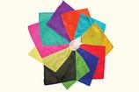 Foulard de soie carré de 15 cm - 6''