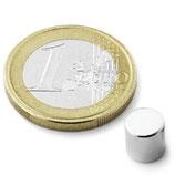 AIMANT - Néodyme (Ø 6 mm-h 6 mm)