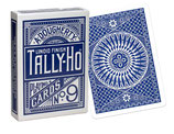 JEU TALLY HO POKER CIRCLE (Bleu/Rouge)