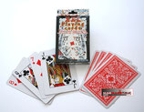 CARTES XXL DOS ROUGE  52 CARTES