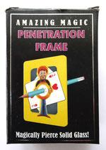 PÉNÉTRATION FRAME - Crayon traversant un tableau