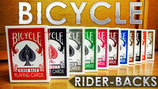 JEU BICYCLE DOS COULEURS RIDER BACK POKER
