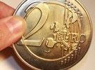 Pièce Géante 2 €uros