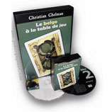 LE BELGE A LA TABLE DE JEU - Christian CHELMAN- 2 DVD + 2 Gimmicks - Fantaisium