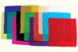 Foulard de soie carré 22 cm - 9''