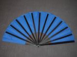Fächer, blau