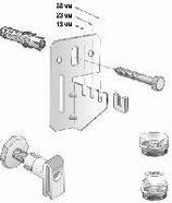 Кронштейн  FBW 1012 ZE для радиаторов тип КV ( комплект)