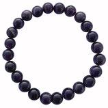 Améthyste d'Uruguay, qualité ++, bracelet en perles de 8 mm