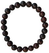 Oeil de fer, bracelet en perles de 8 mm
